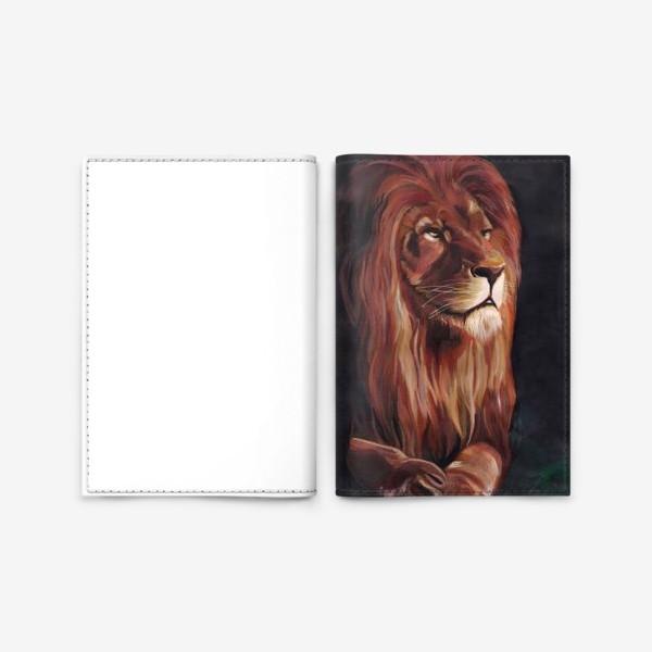 Обложка для паспорта «Царь»
