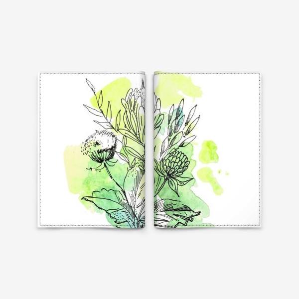 Обложка для паспорта «Свежесть весны, букет»