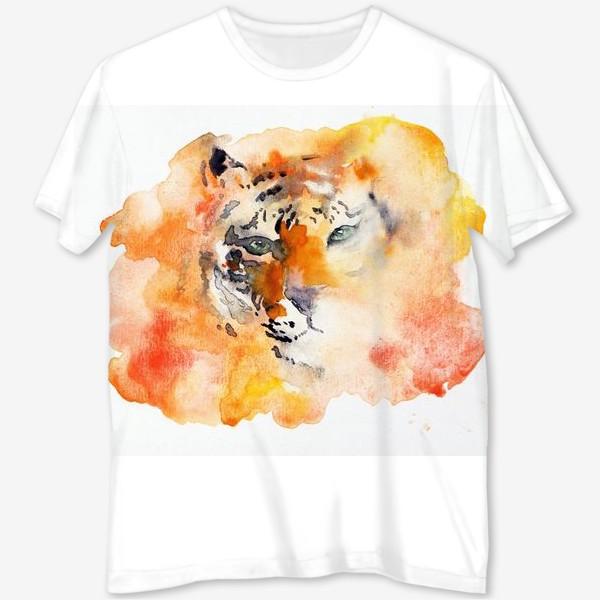 Футболка с полной запечаткой «Tiger»