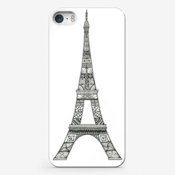 Чехол iPhone «Эйфелева башня»