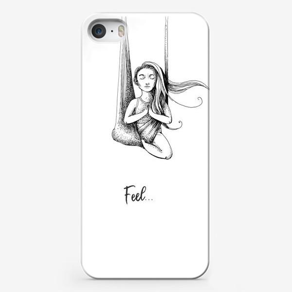 Чехол iPhone «Флай йога»