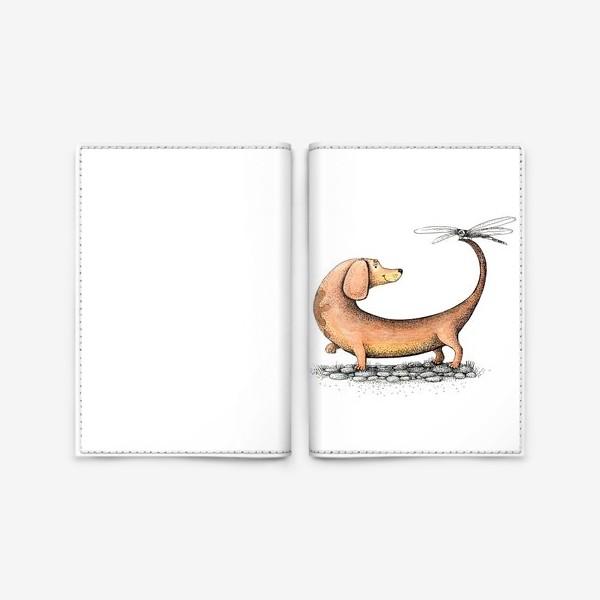 Обложка для паспорта «Друг»