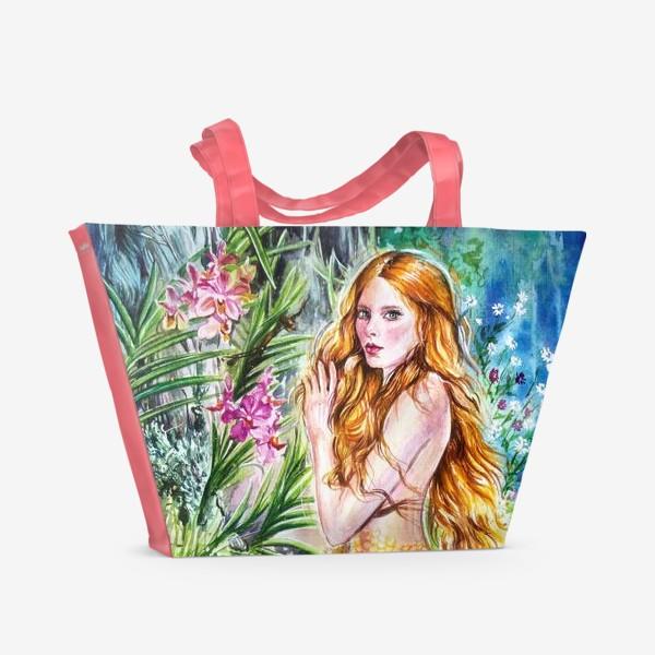 Пляжная сумка «Элиана, от греческого «хелиос» – «солнце»»