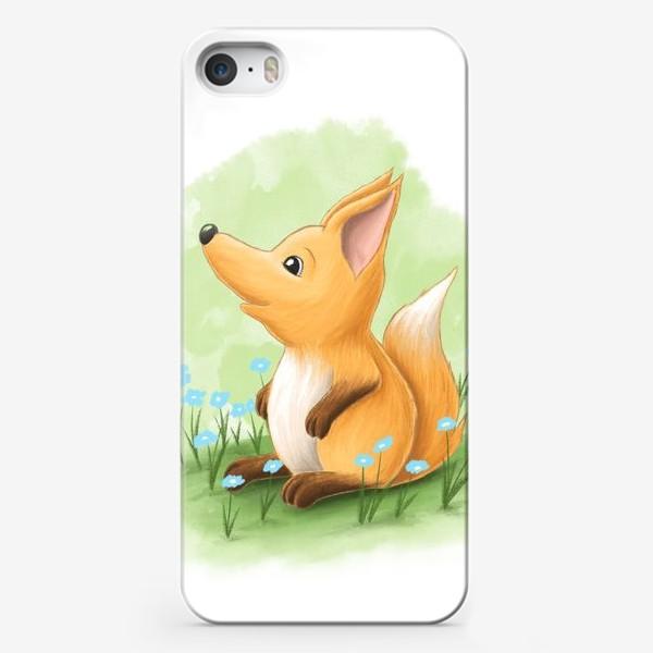 Чехол iPhone «Лисёнок»