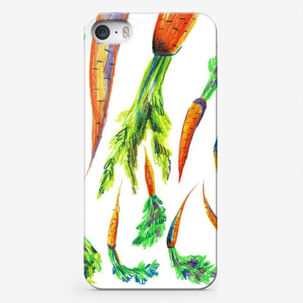 Чехол iPhone «Морковь»