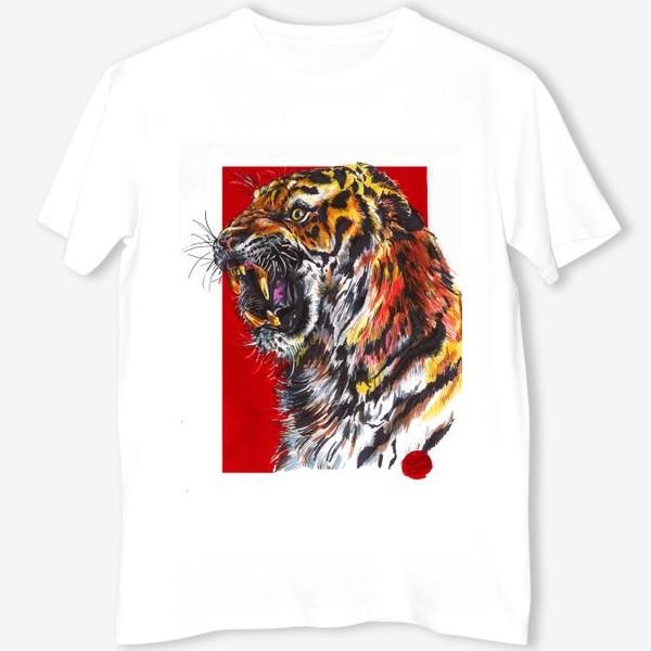 Футболка «Индийский тигр»