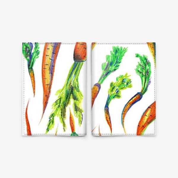 Обложка для паспорта «Морковь»
