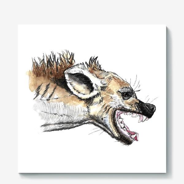 Холст «Африканская гиена»