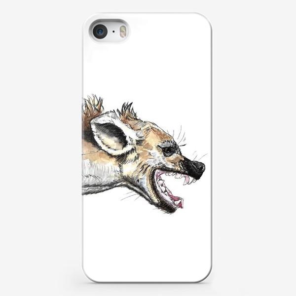 Чехол iPhone «Африканская гиена»