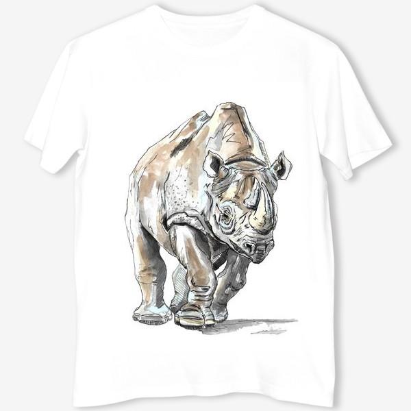 Футболка «Африканский носоро»