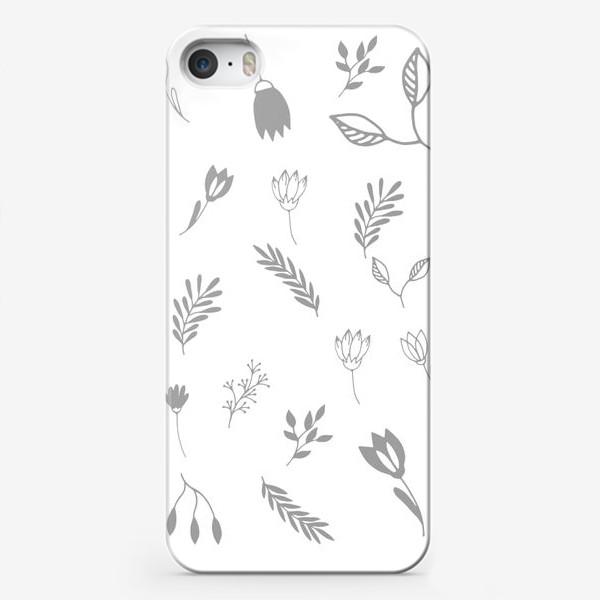 Чехол iPhone «Растения»