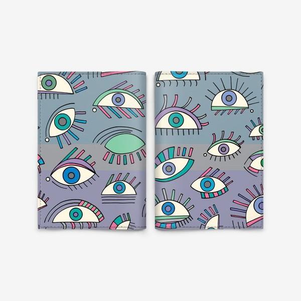 Обложка для паспорта «Глаза»