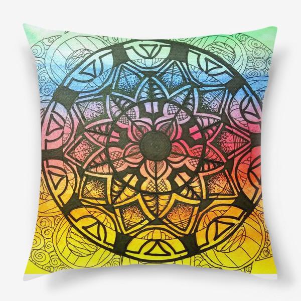 Подушка «Цветочный орнамент »