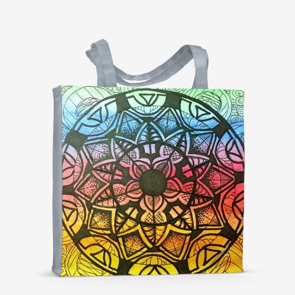 Сумка-шоппер «Цветочный орнамент »