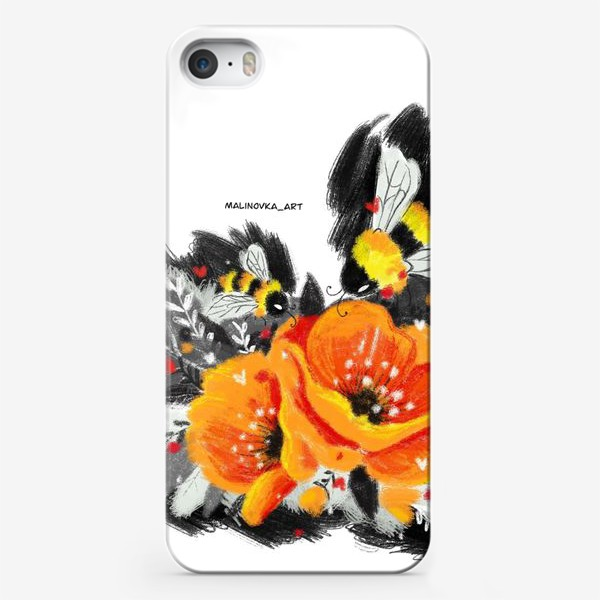 Чехол iPhone «Пчёлы»