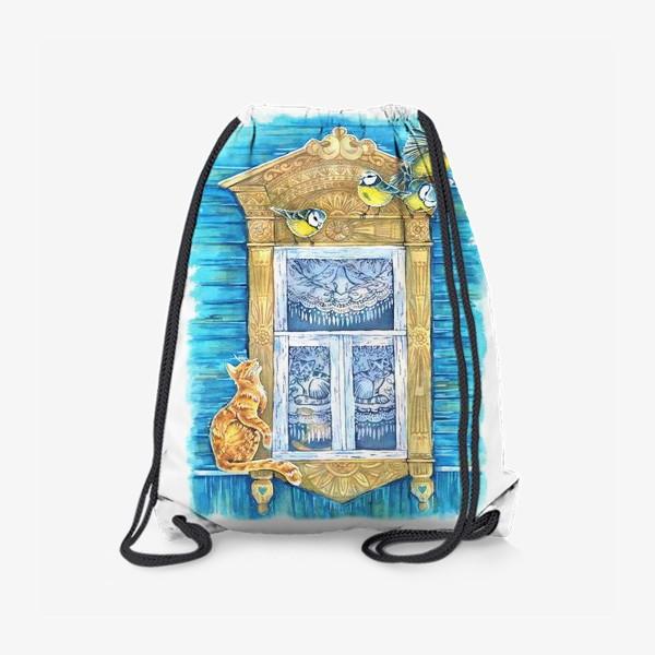 Рюкзак «Окошко и кошки»