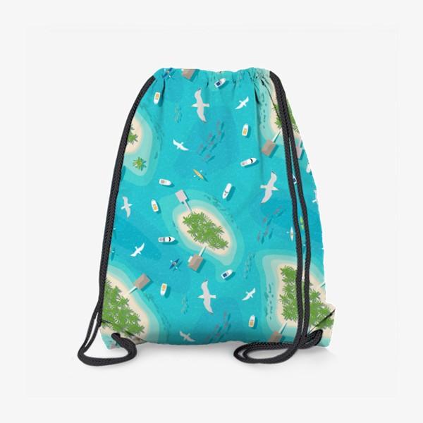 Рюкзак «Тропические острова»