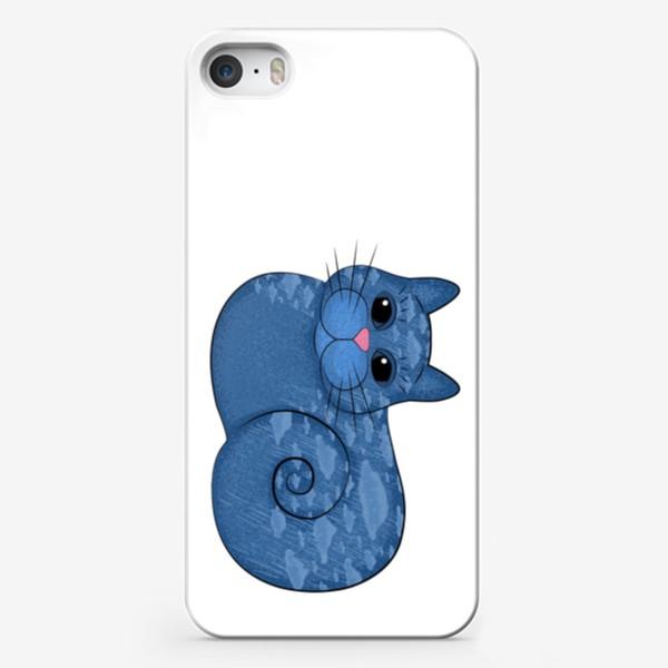 Чехол iPhone «Дождливый кот»