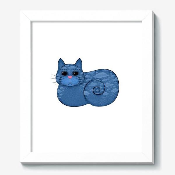 Картина «Дождливый кот»