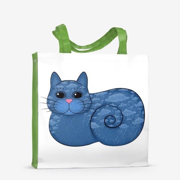 Сумка-шоппер «Дождливый кот»
