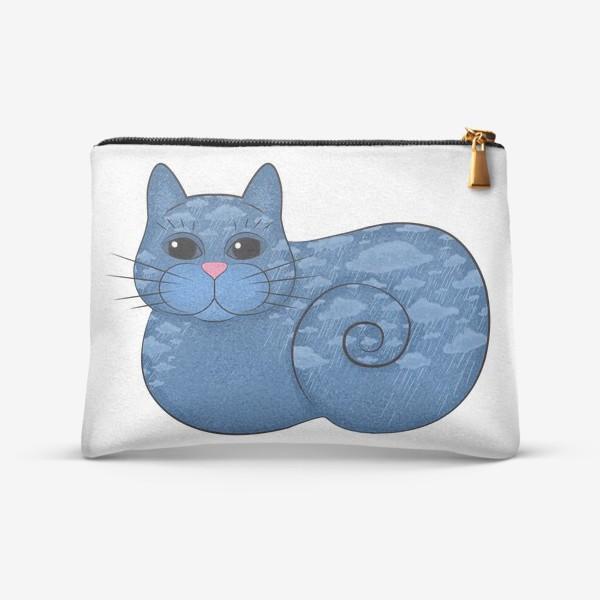 Косметичка «Дождливый кот»