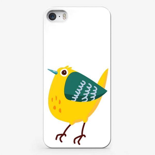Чехол iPhone «Cute cartoon Bird»