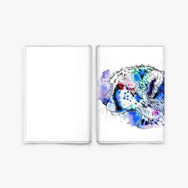 Обложка для паспорта «гепард»