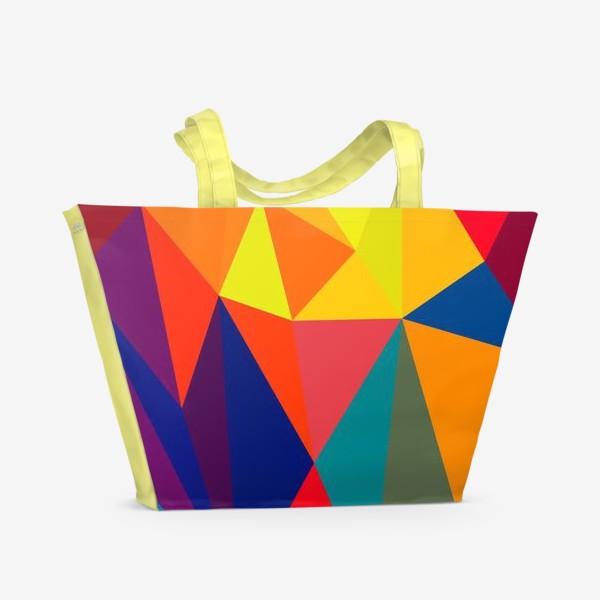 Пляжная сумка «Abstract design for your creativity»