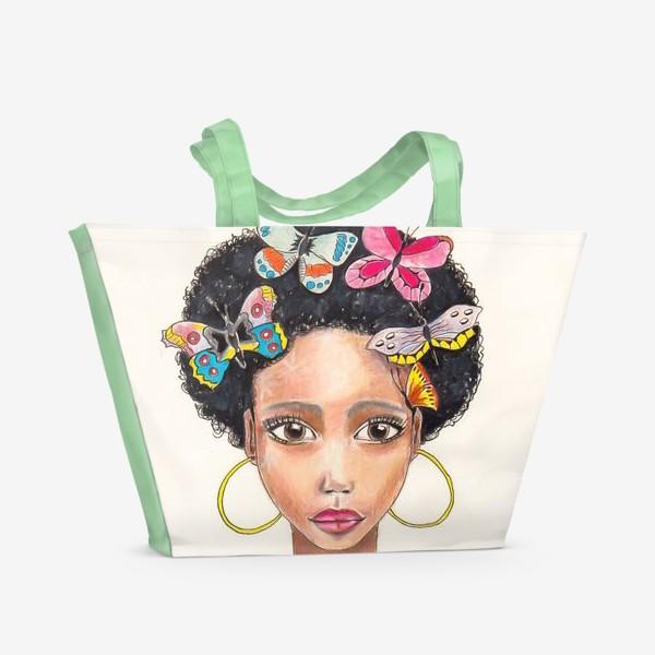 Пляжная сумка «Кубинка»
