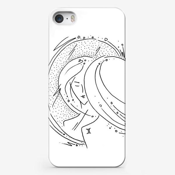 Чехол iPhone «Близнецы зодиак»