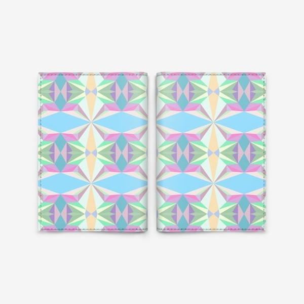 Обложка для паспорта «Abstract design for your creativity»