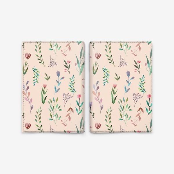Обложка для паспорта «Весенний сон»