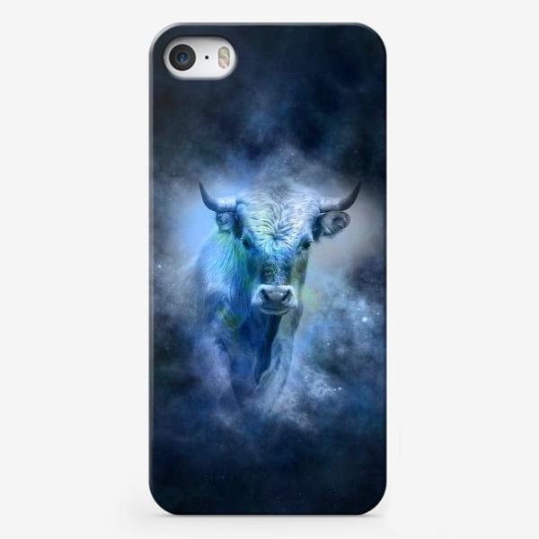 Чехол iPhone «Белый бык»