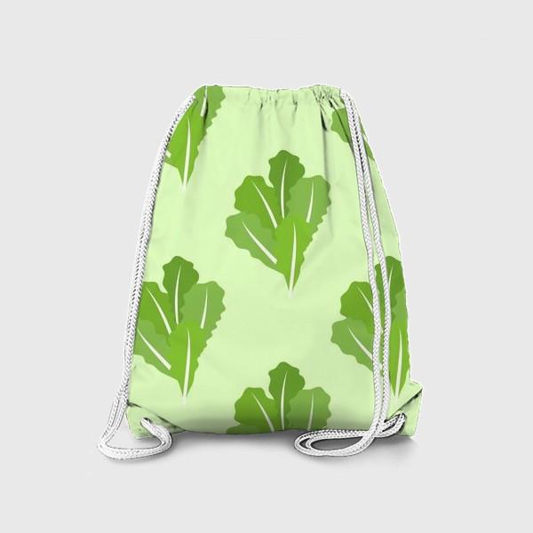 Рюкзак «Листья зеленого салата»