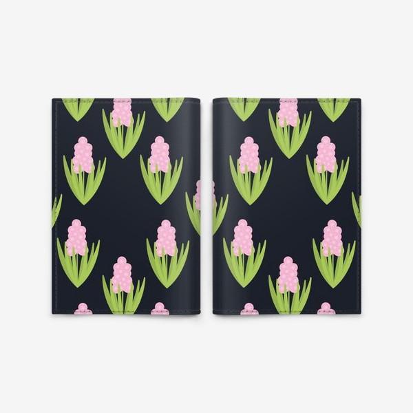 Обложка для паспорта «Розовые Гиацинты»
