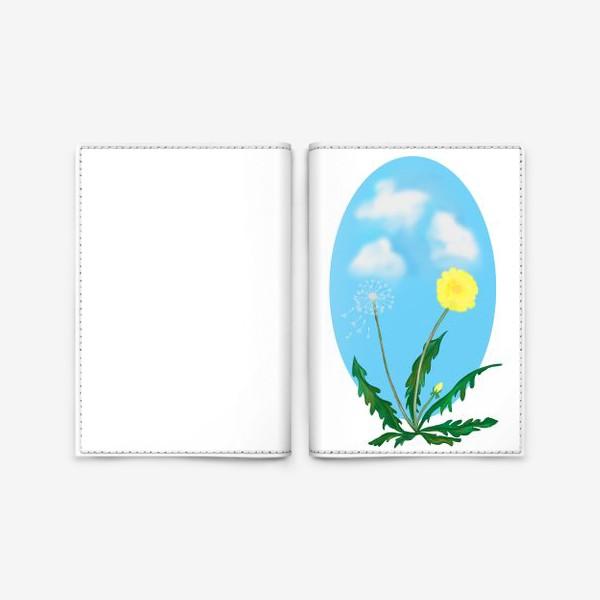 Обложка для паспорта «Одуванчики»