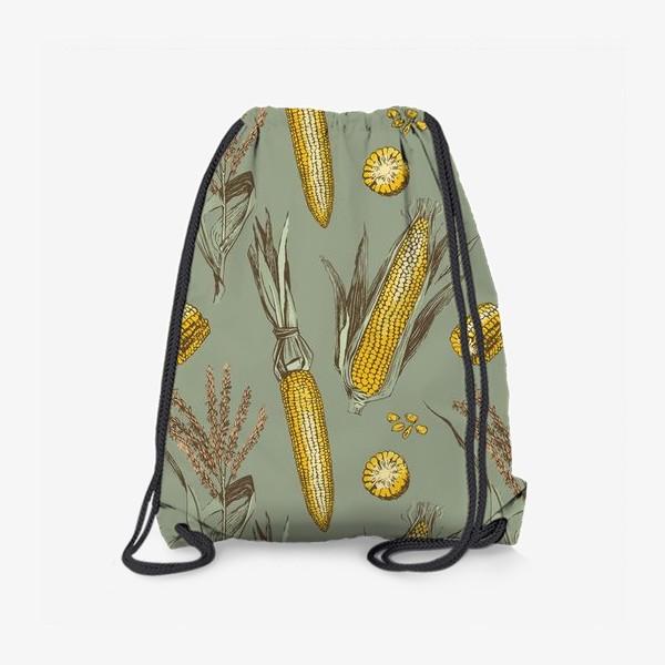 Рюкзак «Узор с кукурузой»