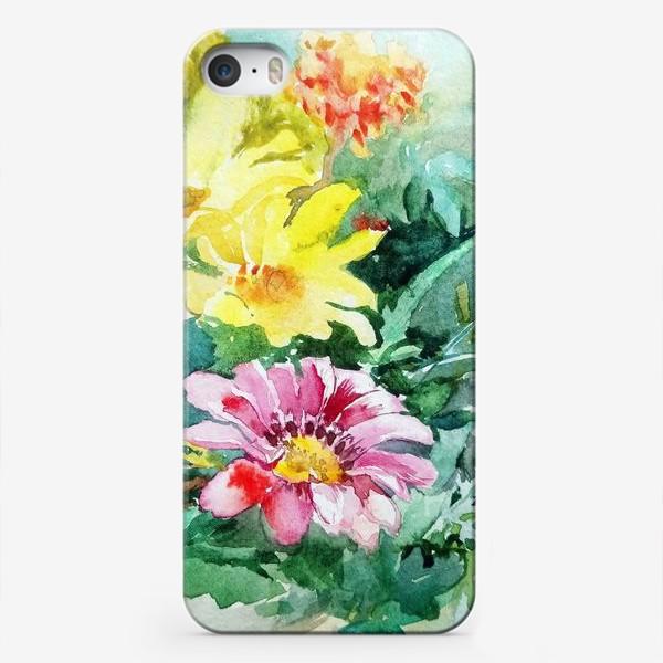 Чехол iPhone «Цветение радости, цветы, подарок женщине»
