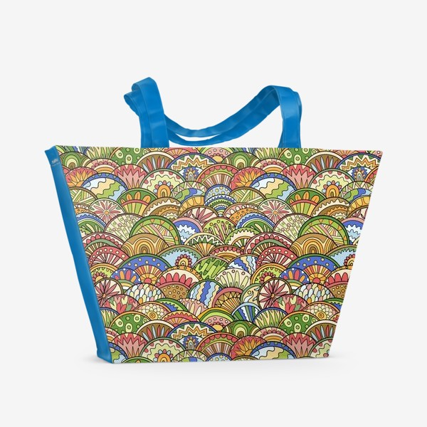 Пляжная сумка «Чешуйки»