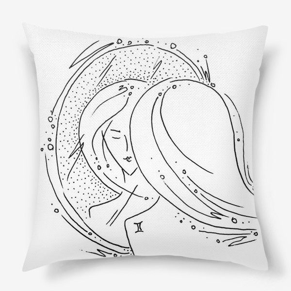 Подушка «Близнецы зодиак»