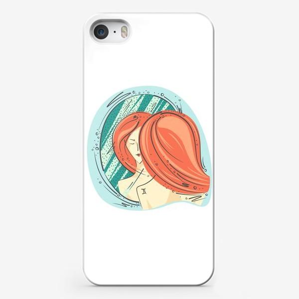 Чехол iPhone «Близнецы зодиак цвет»