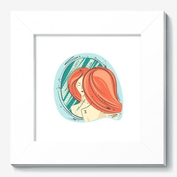 Картина «Близнецы зодиак цвет»