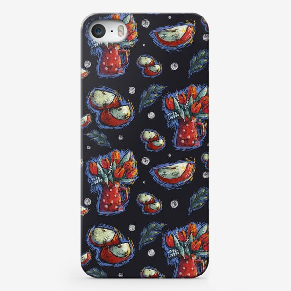 Чехол iPhone «Яблоки»
