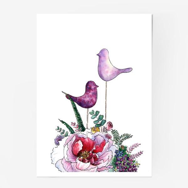 Постер «Цветочная композиция»