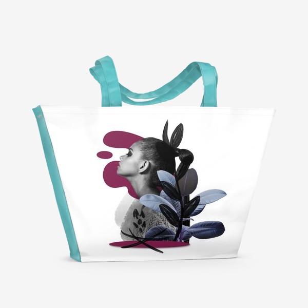 Пляжная сумка «Коллаж»