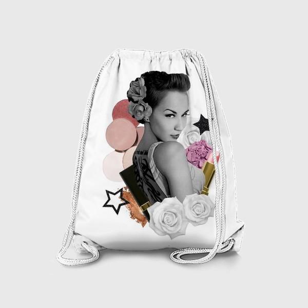 Рюкзак «Коллаж Мейкап»