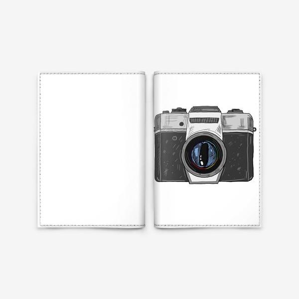 Обложка для паспорта «Фотоаппарат »