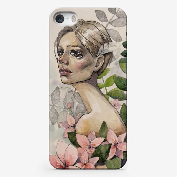 Чехол iPhone «Нежная грусть»