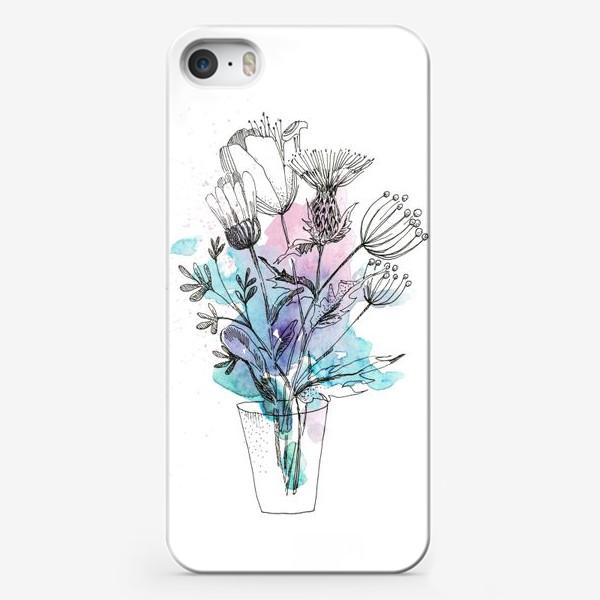 Чехол iPhone «Брызги весны»