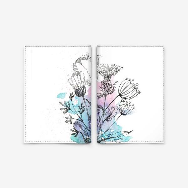 Обложка для паспорта «Брызги весны»